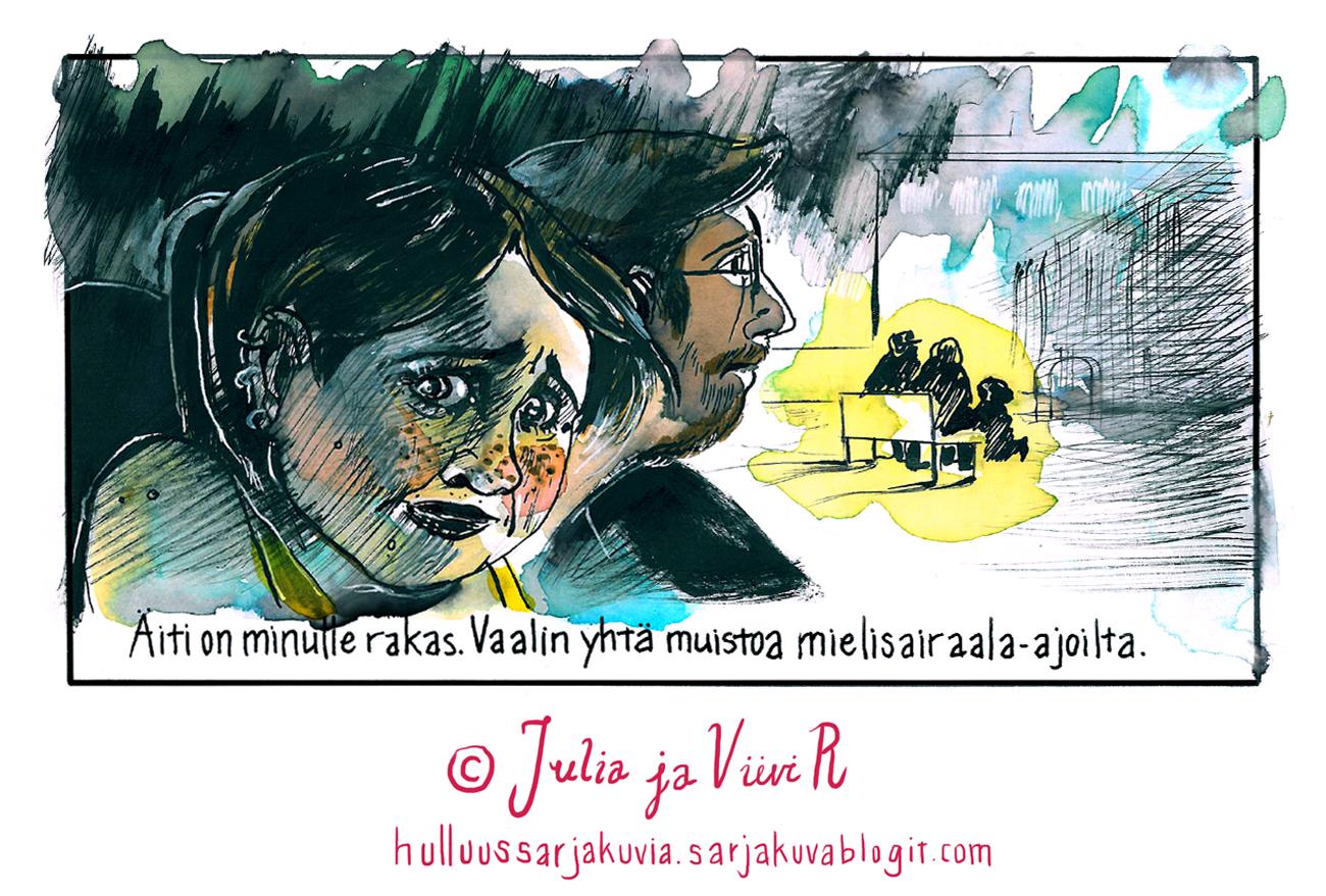 vikaruutuosa2_juliajaviivir_hulluussarjakuvat2016